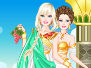 play Barbie Roman Princess