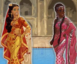 play Sari Make Over