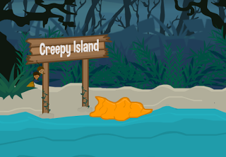 play Escape Creepy Island