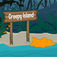play Escape Creepy Island