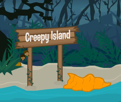 play Flonga Escape Creepy Island