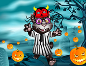 play Halloween Tom Dress Up Game