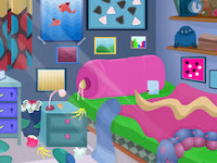 play New Messy Room Escape