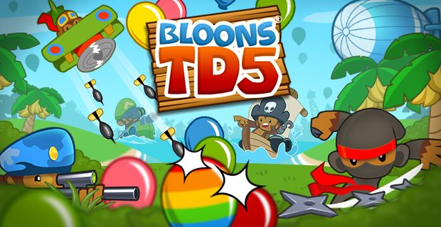 bloons td 5 online