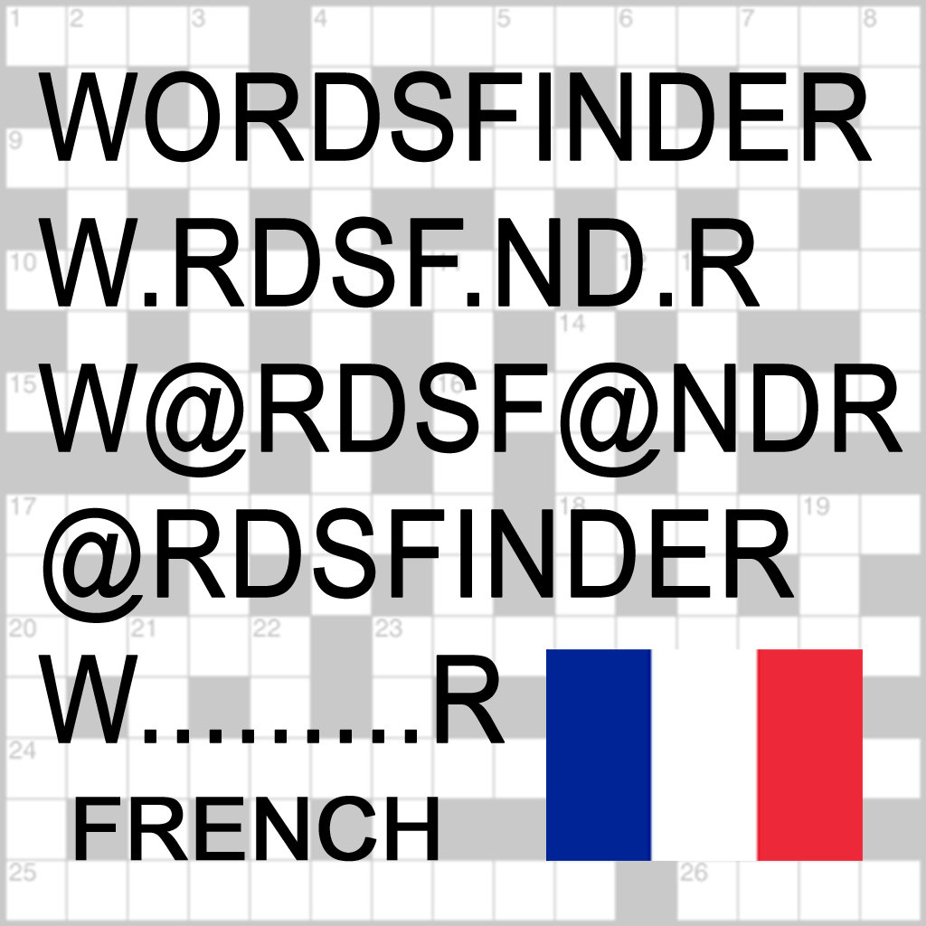 play F Words Finder Français/French Pro - Find The Best Words For Crossword, Wordfeud, Scrabble, Cryptogram, Anagram And Spel