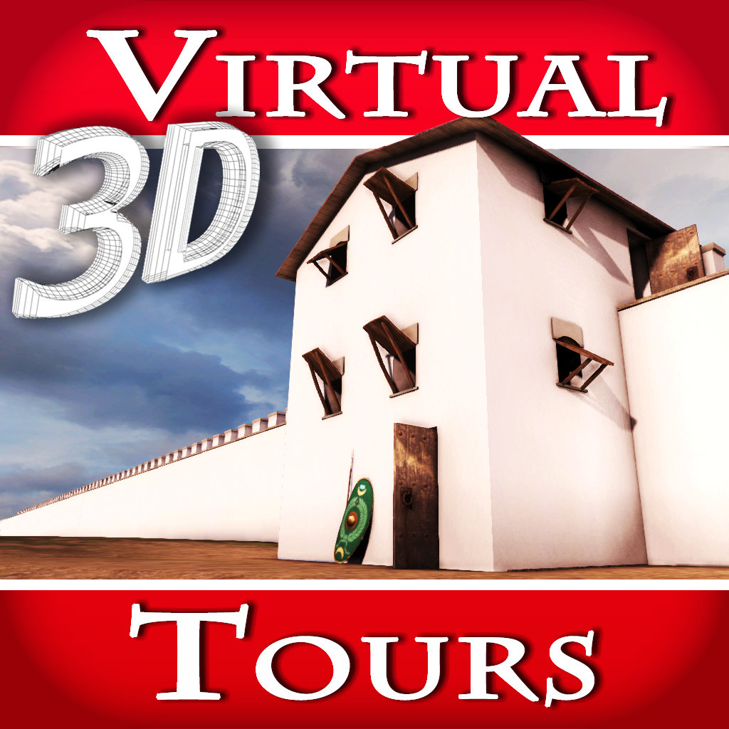 play Hadrian'S Wall. The Roman Empire Most Imposing Frontier - Virtual 3D Tour & Travel Guide Of Denton Hall Turret