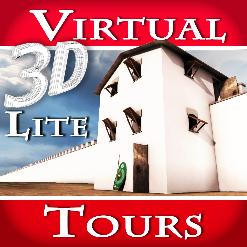 play Hadrian'S Wall. The Roman Empire Most Imposing Frontier - Virtual 3D Tour & Travel Guide Of Denton Hall Turret (Lite Ver
