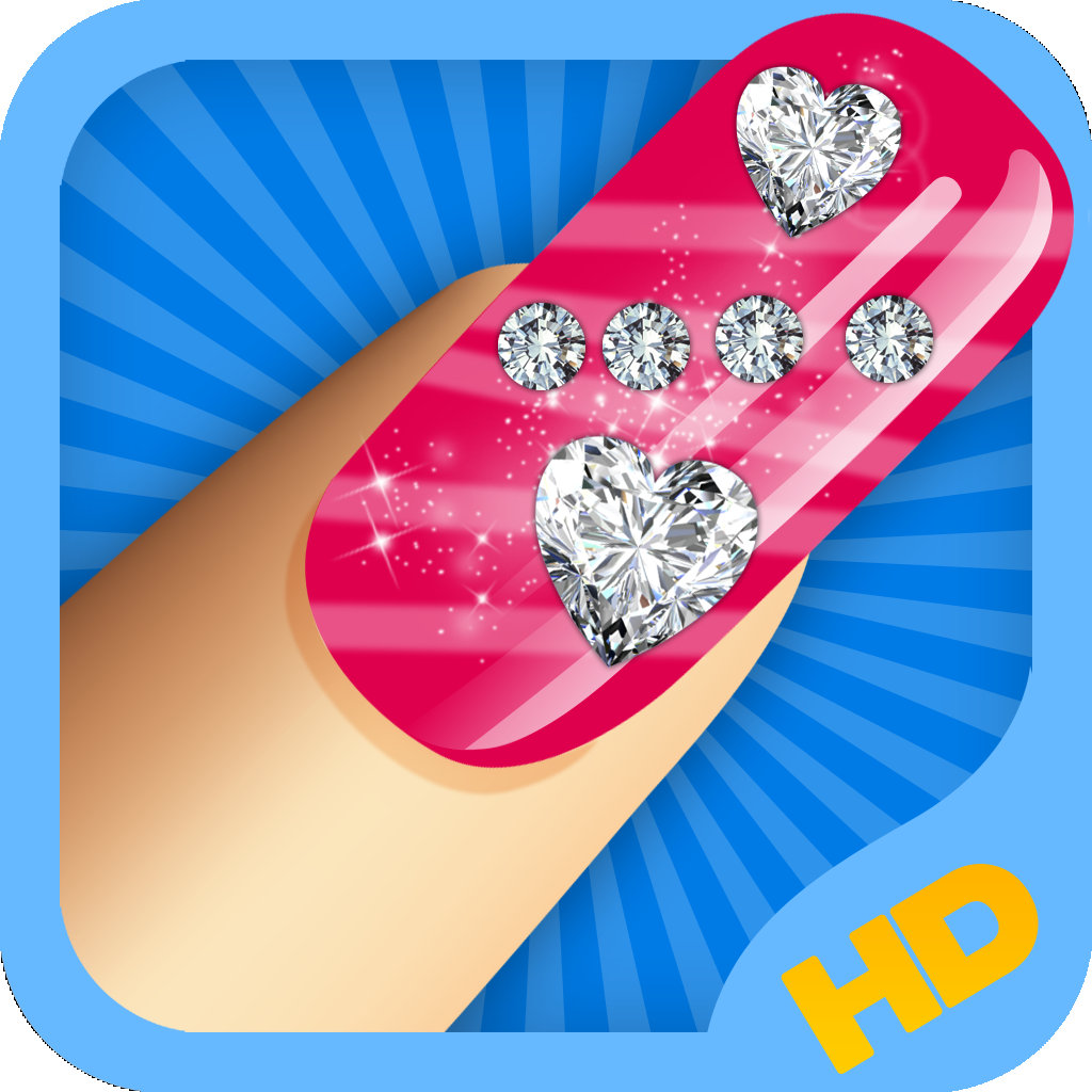 Nail Girl Games: Nail Art Game For Girls