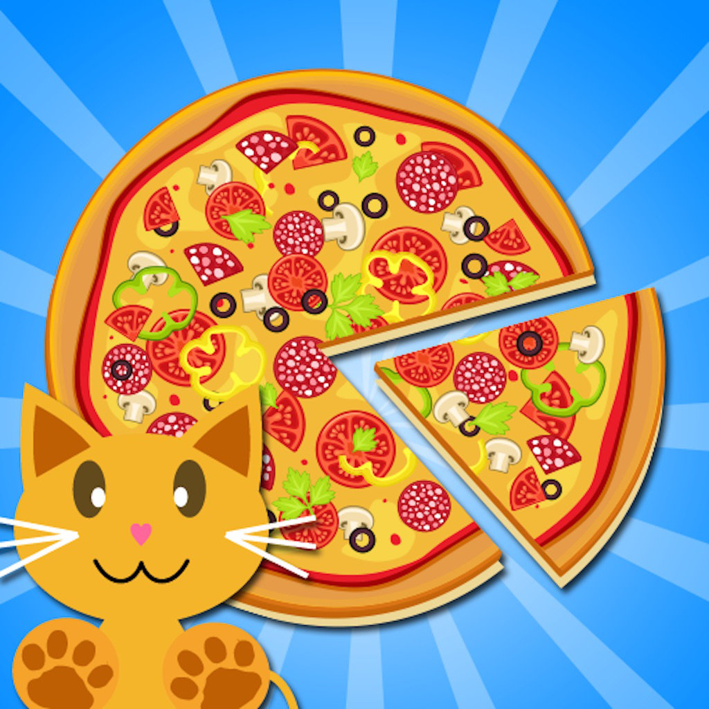 play Qcat - Toddler'S Pizza Master 123 (Free Game For Preschool Kid)