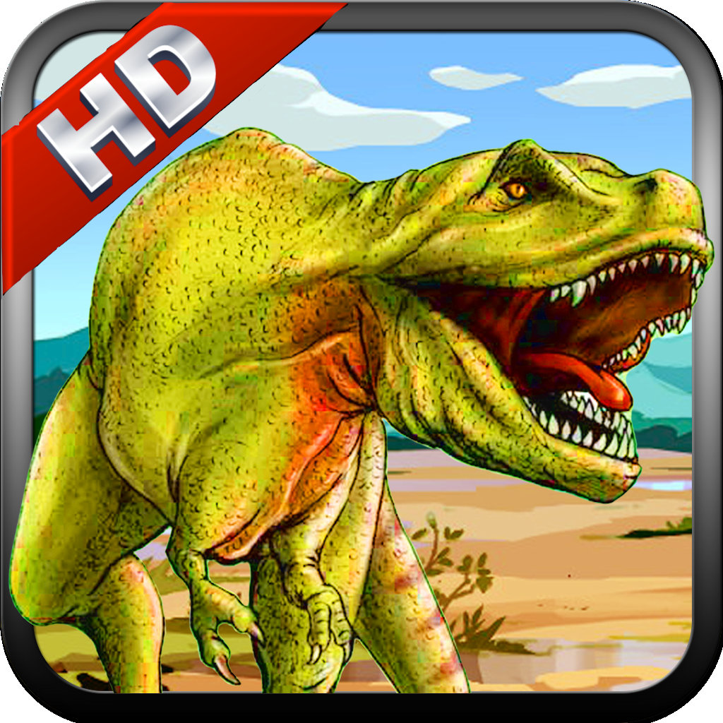 play T-Rex Dinosaur Escape Run - At The Worlds End
