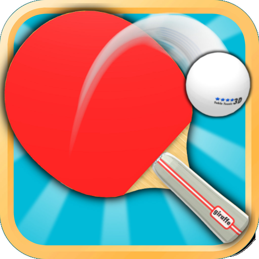 Table tennis 3d ping pong for Table tennis