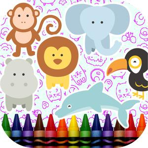play Baby Animals Coloring Book