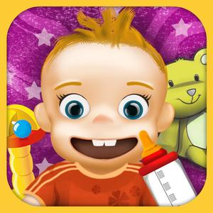 play Baby Care, Feed & Baby Dressup - Hot Water Bath, Baby Makeover & Play With Toys With Bonus Abc Game For Pre School Kids,