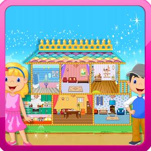 play Baby Doll House - Kids Game