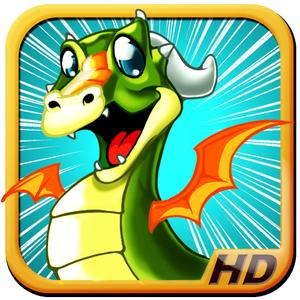 play Baby Dragon Fly Racer - Fairy Tail Fantasy Racing Game