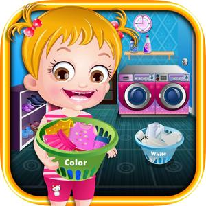 play Baby Hazel Laundry Time