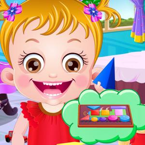 play Baby Hazel Learn Shapes - Education Game
