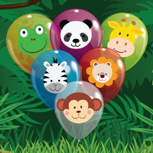 play Baby Jungle Balloon Pop