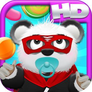 play Baby Panda Bears Candy Rain Hd - Fun Cloud Jumping Edition Free Game!