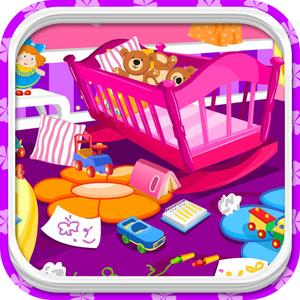play Baby Room Clean Up - Cleaning Baby Room Game