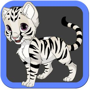 play Baby White Tiger Cub Rescue Quest