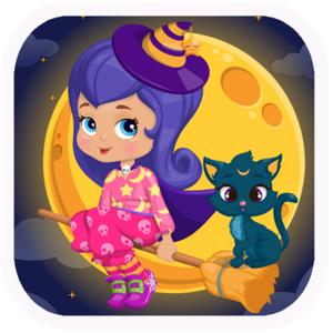 play Baby Witch Magic Potion 1 - Potion Maker&Magicwitch Cat