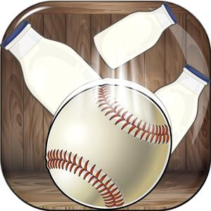 play Ball Toss Flick Knockdown Pro