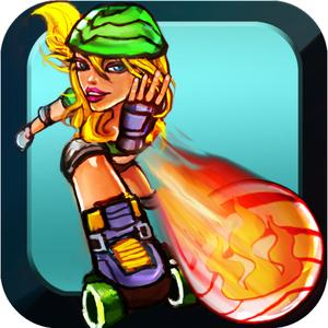 play Candy Crushers: Roller Girls Dodgeball