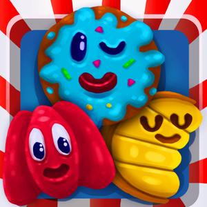 play Candy Dash Rush Puzzle - Fun Match3 Crush Game For Cool Kids Over 2 Pro Version