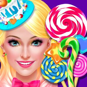 play Candy Shop Girl - Sweet Cooking Story & Beauty Salon Game