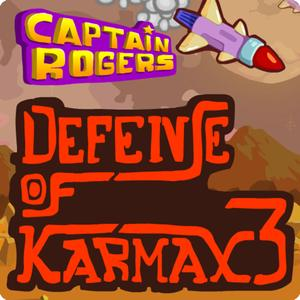 play Captain Rogers Defense Of Karmax-3