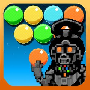 play Dark Invader Bubble Shooter