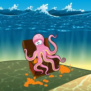 play Deep Ocean Sunken Treasure Scratchers Instant Win Tickets