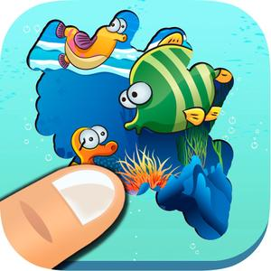 play Discover The Sea - Recreational Game For Children To Learn Sea Animals