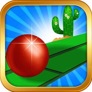 play Easy Red Ball Bouncer - Bouncing Ball Endless Game!