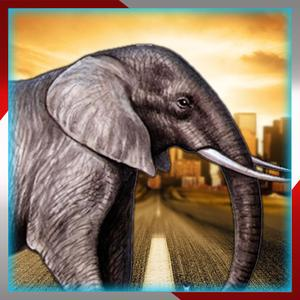 play Elephant Traffic Safari:Collect Coins And Enjoy This Adventure Run