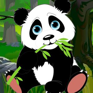 play Fall In The Jungle : Super Panda Skydiving - Free Edition