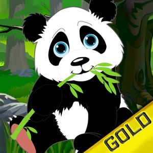 play Fall In The Jungle : Super Panda Skydiving - Gold Edition