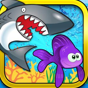 play Farm Fish Rescue - Save Small Fishie From Attack Of Hungry Shark Swallow
