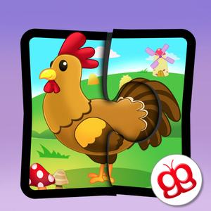 play Farm Jigsaw Puzzles 123 - Fun Learning Puzzle Game For Kids