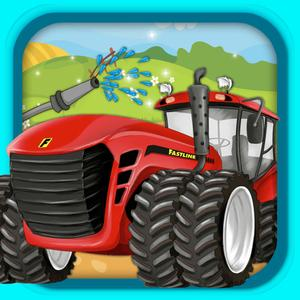 play Farm Tractor Repairing And Washings
