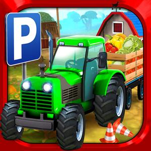 play Farm Truck Car Parking Simulator - Real Tractor Driving Test Sim Racing