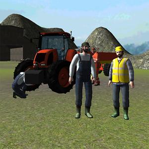 play Farming 3D: Tractor Driving