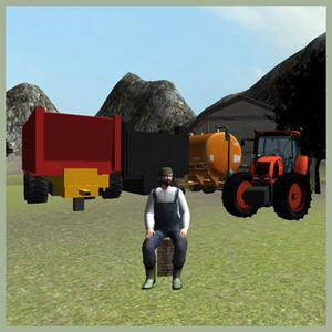play Farming 3D: Tractor Parking