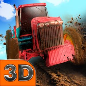 play Farming Tractor Racing 3D Full