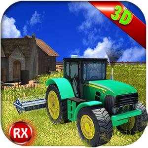 play Farming Tractor Simulator - 3D Agriculture Farm Plowing Machine