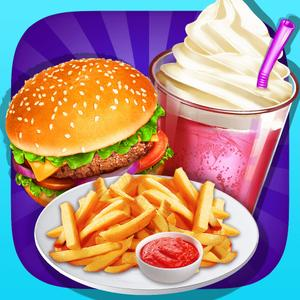 play Fast Food Maker - Happy Chef'S Meal