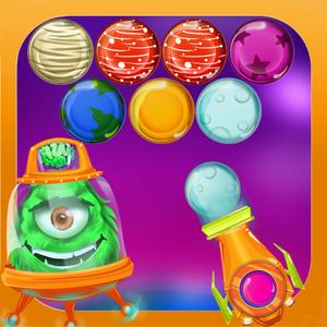 play Galaxy Star Bubble Shooter