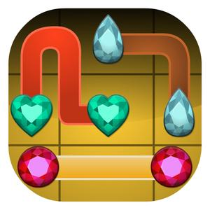 play Gems Slider - Challenging Sliding Puzzle Game
