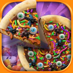 play Halloween Candy Pizza Maker – Kids Dessert Cooking Game